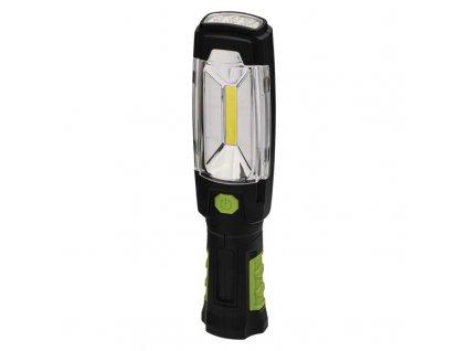 COB LED + LED nabíjacie pracovné svietidlo P4518, 380 lm,2500 mAh