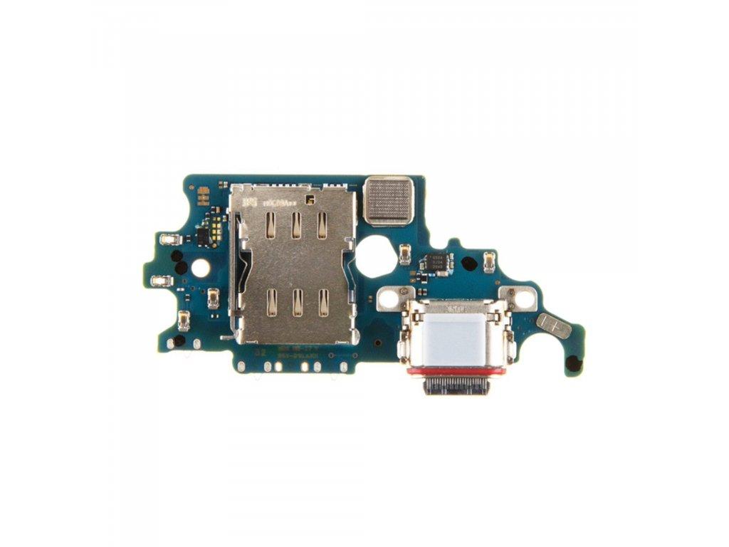 Samsung Galaxy S21 nabíjecí usb port konektor nabíjení mikrofon G991 (Service Pack)