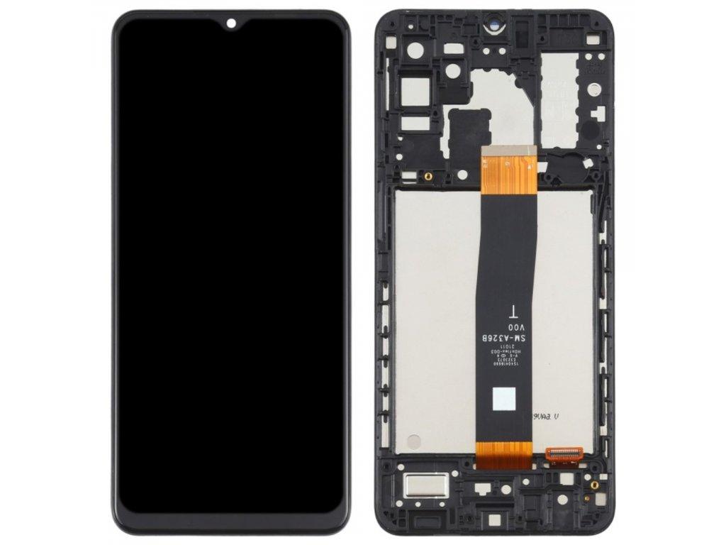 Samsung Galaxy A32 5G LCD displej dotykové sklo přední panel A326 včetně rámečku