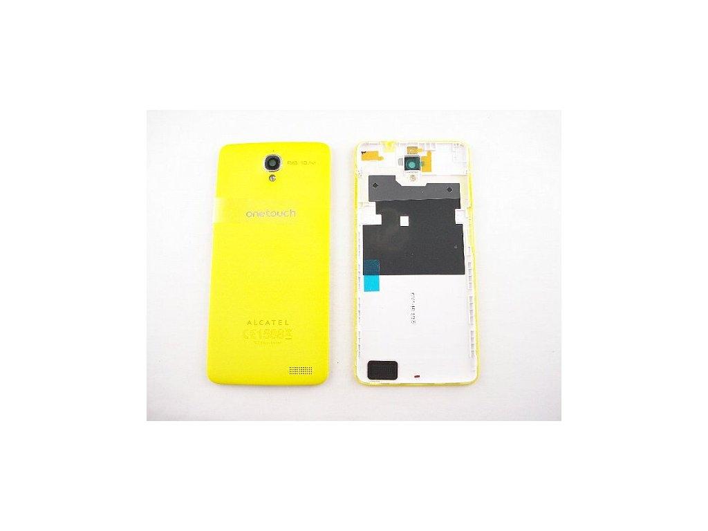 Alcatel 6040D kryt baterie žlutý