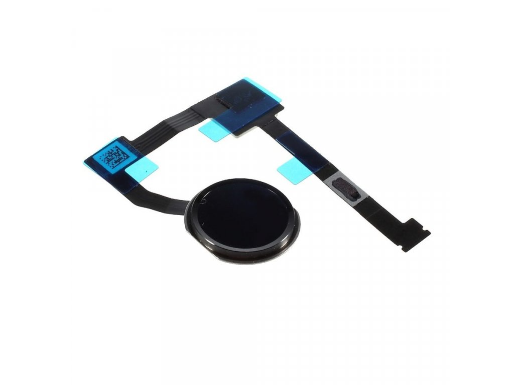 "Apple iPad PRO 12.9"" / Air 2 touch ID home button černý flex domovské tlačítko"