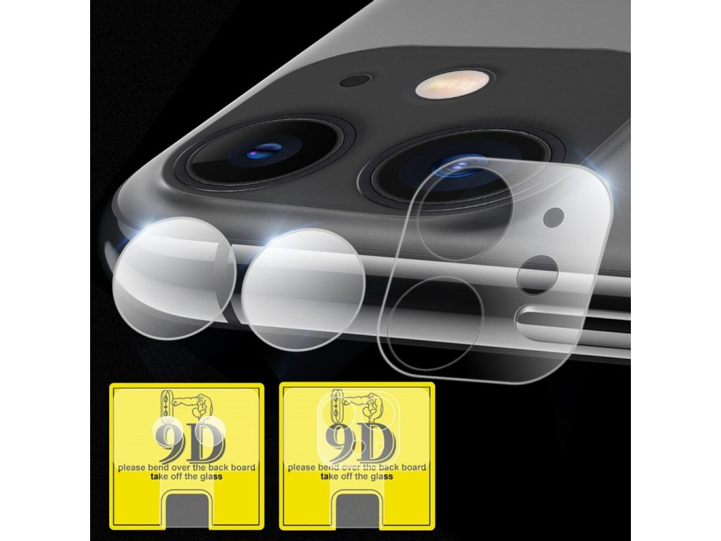 Apple iPhone 11 Ochranné tvrzené sklo na čočky fotoaparátů