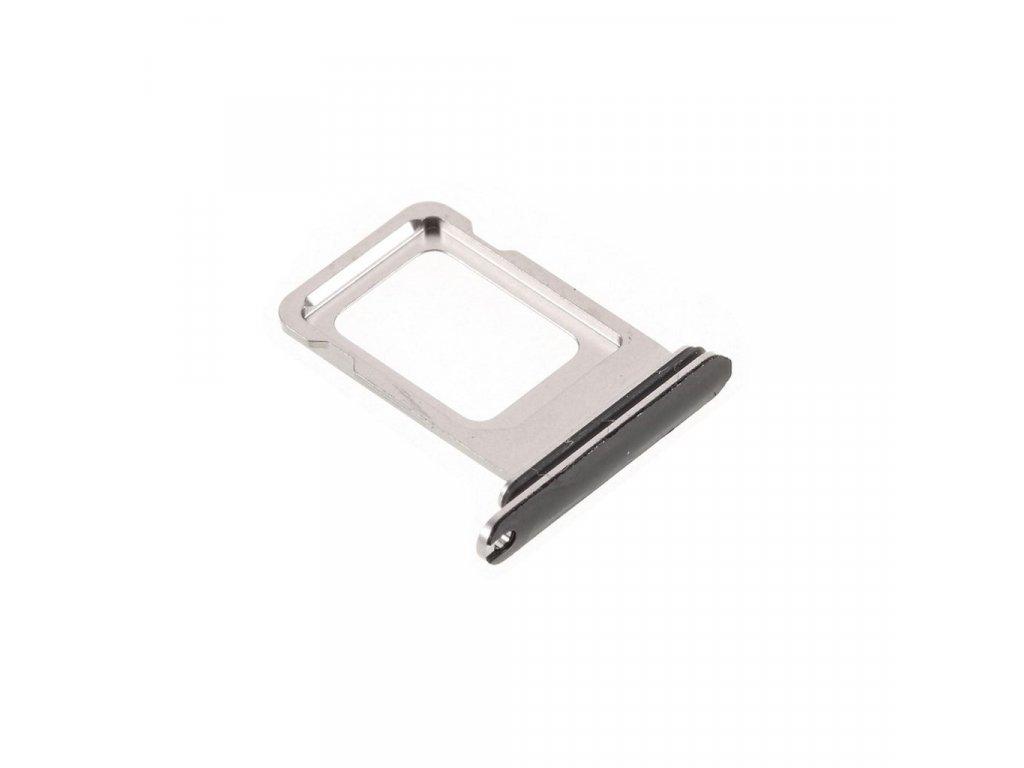 Apple iPhone 11 PRO / Pro MAX šuplík na SIM stříbrný