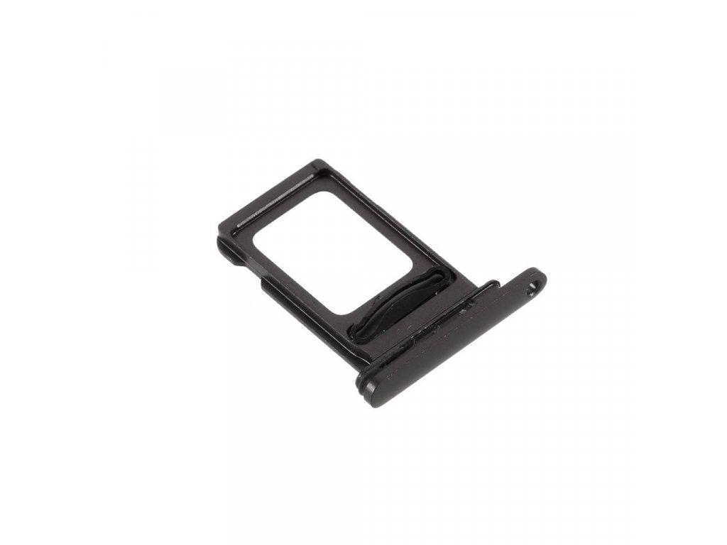 Apple iPhone 11 šuplík na SIM kartu černý
