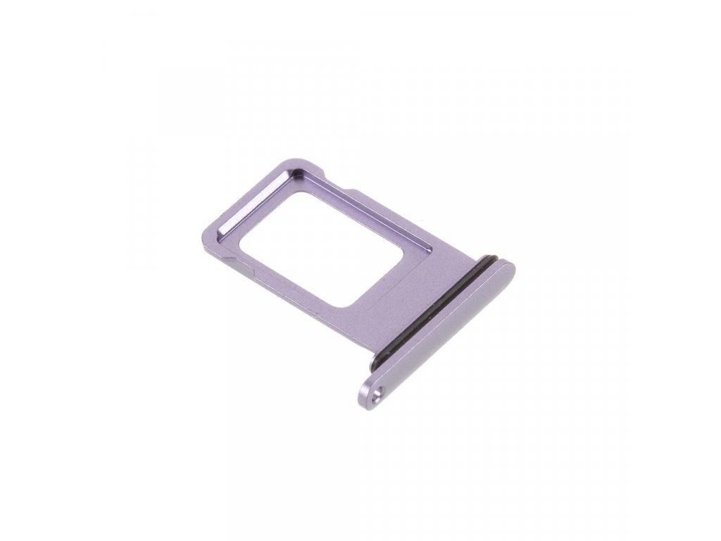 Apple iPhone 11 šuplík na SIM kartu fialový