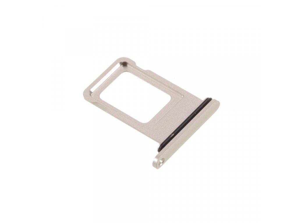 Apple iPhone 11 šuplík na SIM kartu stříbrný