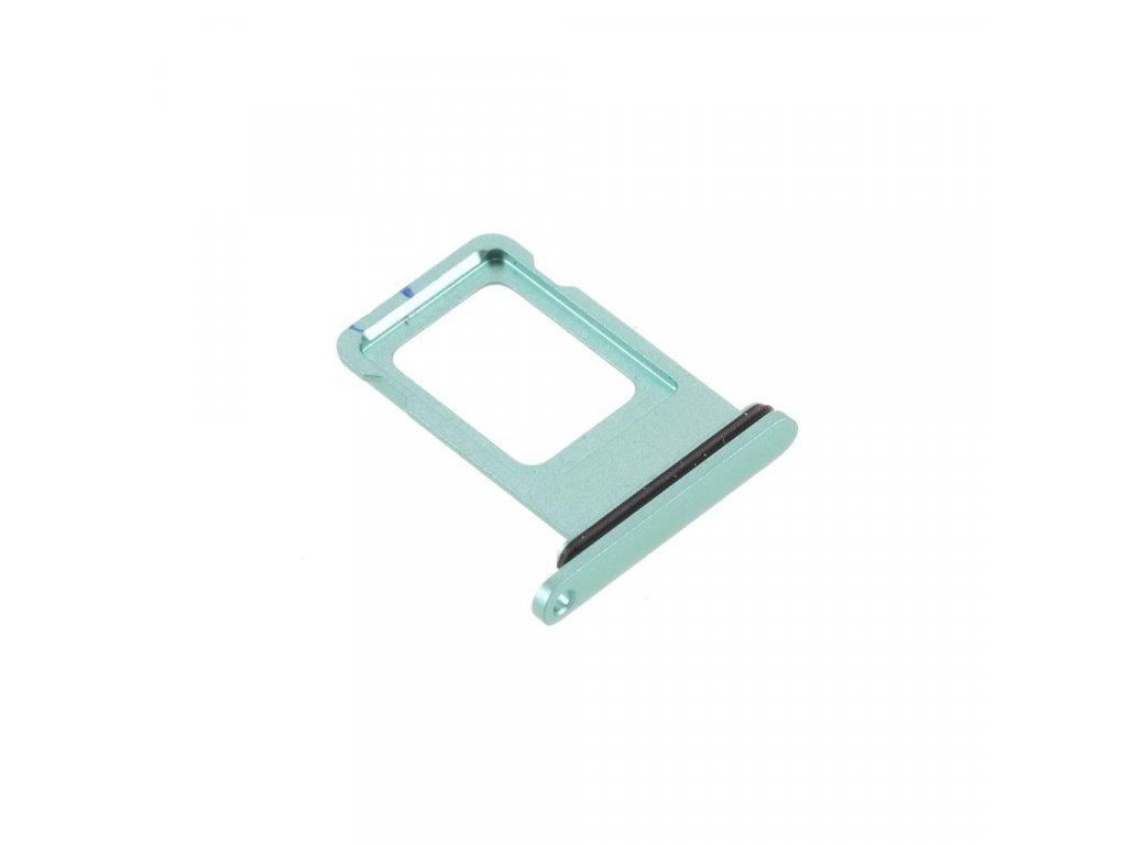 Apple iPhone 11 šuplík na SIM kartu zelený