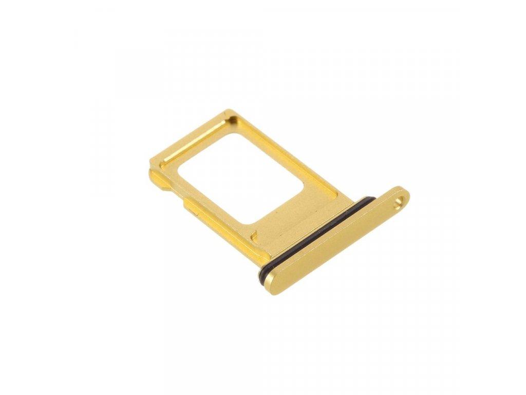 Apple iPhone 11 šuplík na SIM kartu žlutý