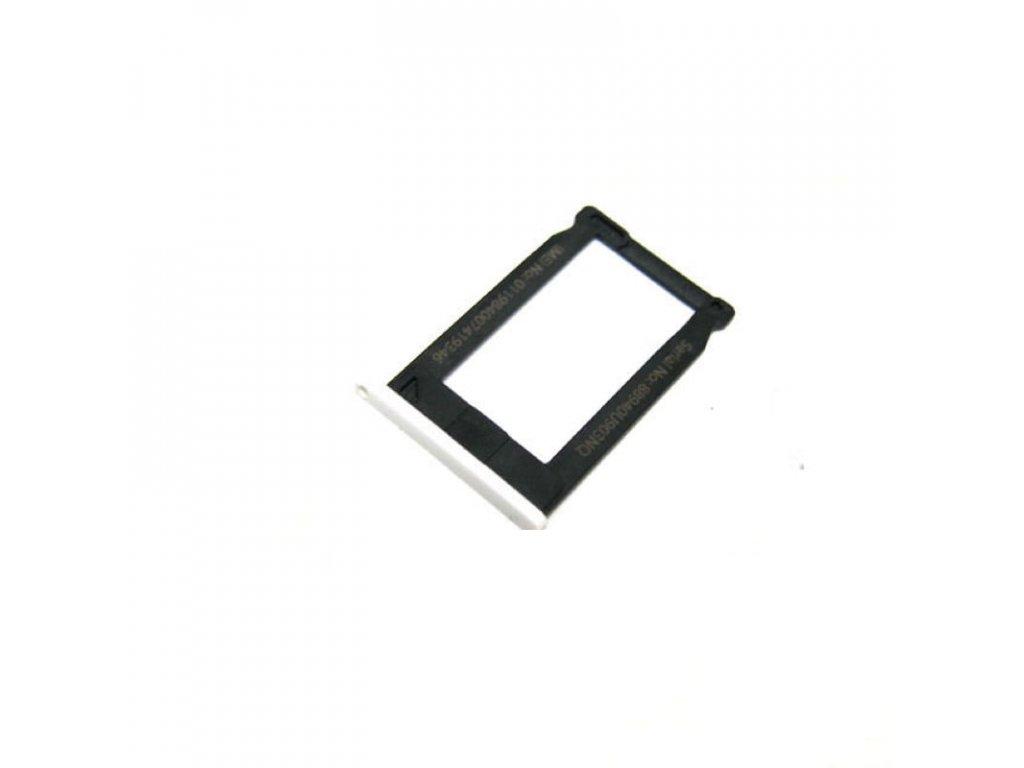 Apple iPhone 3G 3GS šuplík na SIM tray bílý