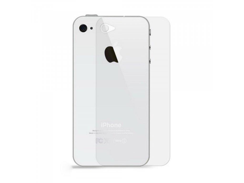 Apple iPhone 4 4S Ochranné tvrzené sklo na zadní kryt baterie
