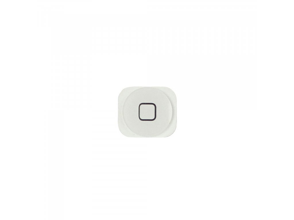 Apple iPhone 5 Home button tlačítko bílé
