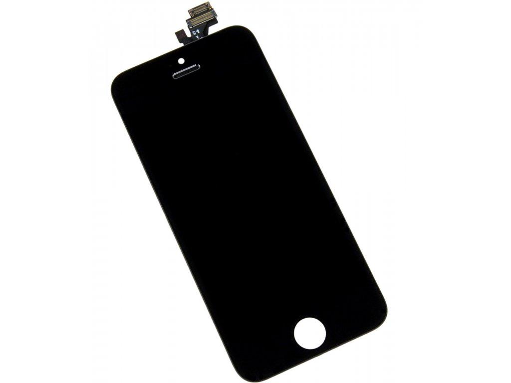 Apple iPhone 5 LCD displej černý dotykové sklo komplet