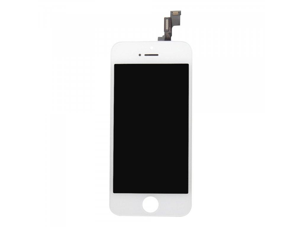 Apple iPhone 5S / SE LCD displej dotykové sklo bílé