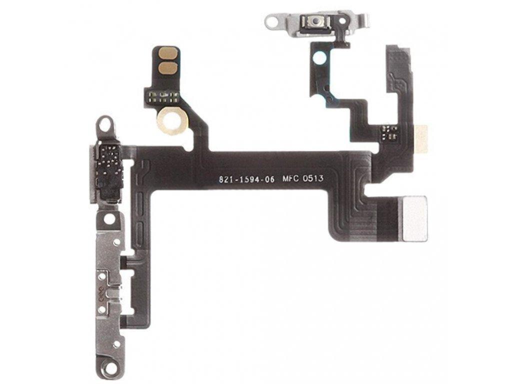 Apple iPhone 5S zapínací tlačítko osázené flex volume ovládání hlasitosti power