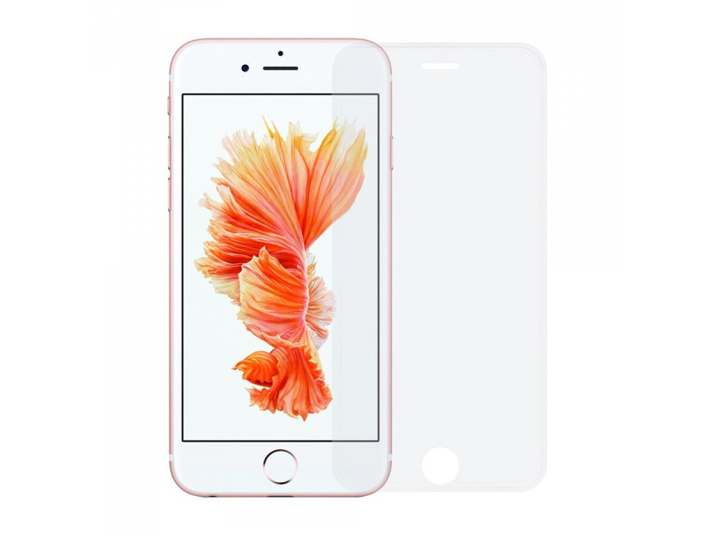 Apple iPhone 6 / 6S 3D transparentní ochranné tvrzené sklo