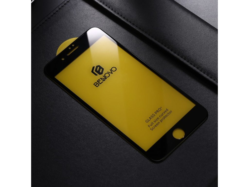 Apple iPhone 6 Plus / 6S Plus 5D Ochranné tvrzené sklo černé