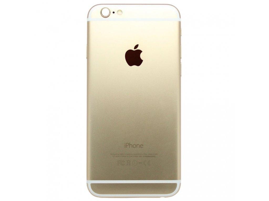Apple iPhone 6 zadní kryt baterie housing zlatý champagne