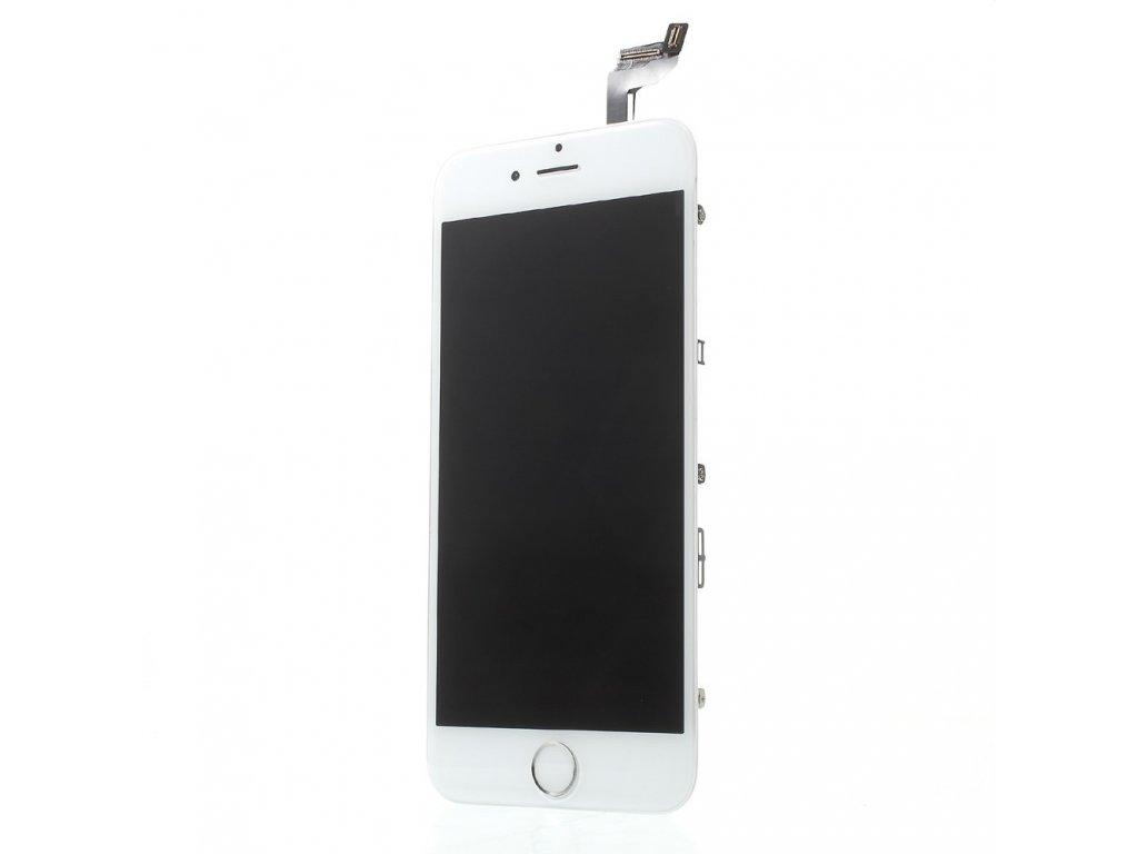 Apple iPhone 6S LCD displej dotykové sklo bílý komplet přední panel jasnější podsvit včetně osázení