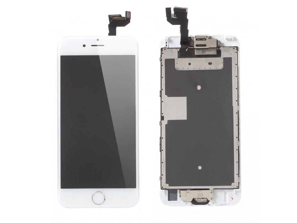 Apple iPhone 6S LCD displej OSÁZENÝ dotykové sklo bílé