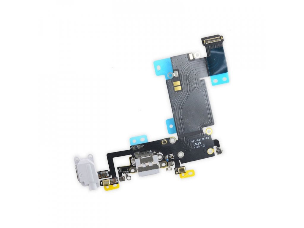 Apple iPhone 6S Plus dock flex nabíjení mikrofon šedý