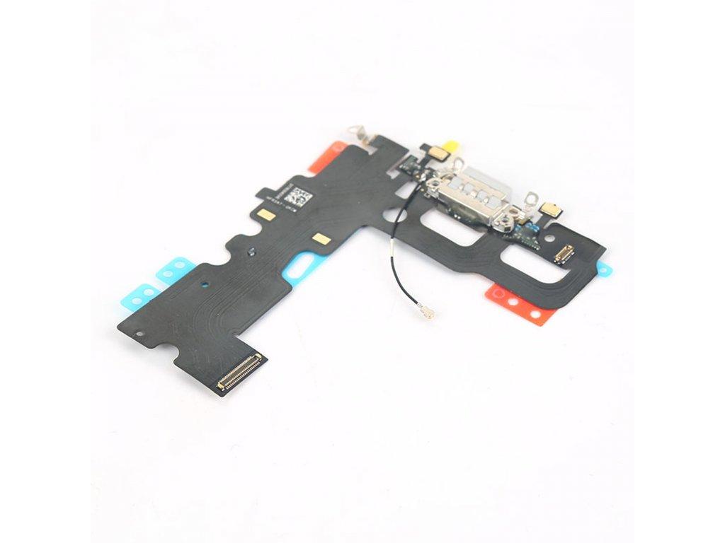 Apple iPhone 7 dock flex nabíjení anténa lightning konektor bílý