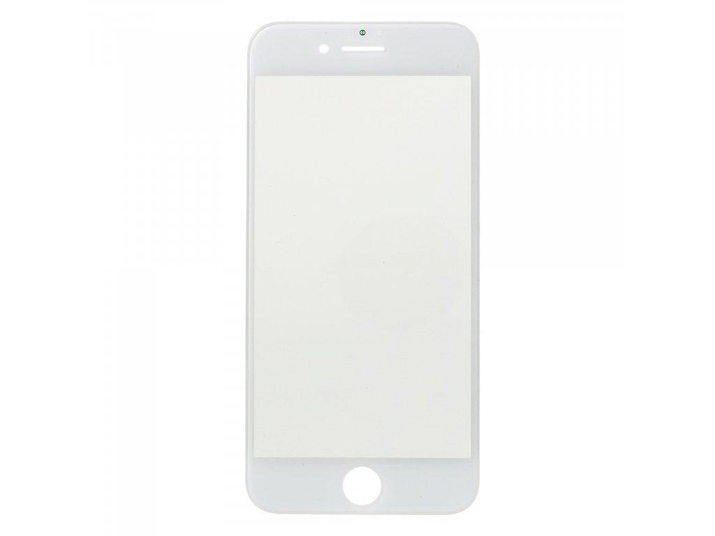 Apple iPhone 7 krycí náhradní sklo bílé včetně OCA rámečku a LCD polarizační vrstvy