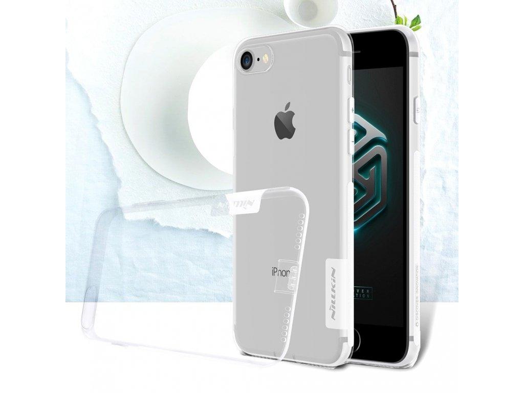 Apple iPhone 7 Ochranný kryt pouzdro Nillkin transparentní