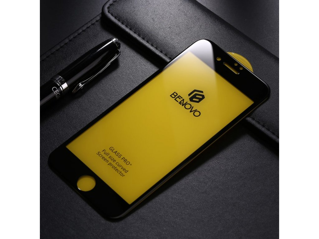 Apple iPhone 7 Plus / 8 Plus  5D Ochranné tvrzené sklo černé