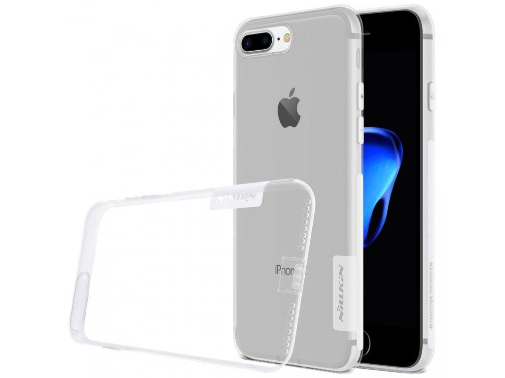 Apple iPhone 7 Plus / 8 Plus ochranné pouzdro Nillkin kryt transparentní