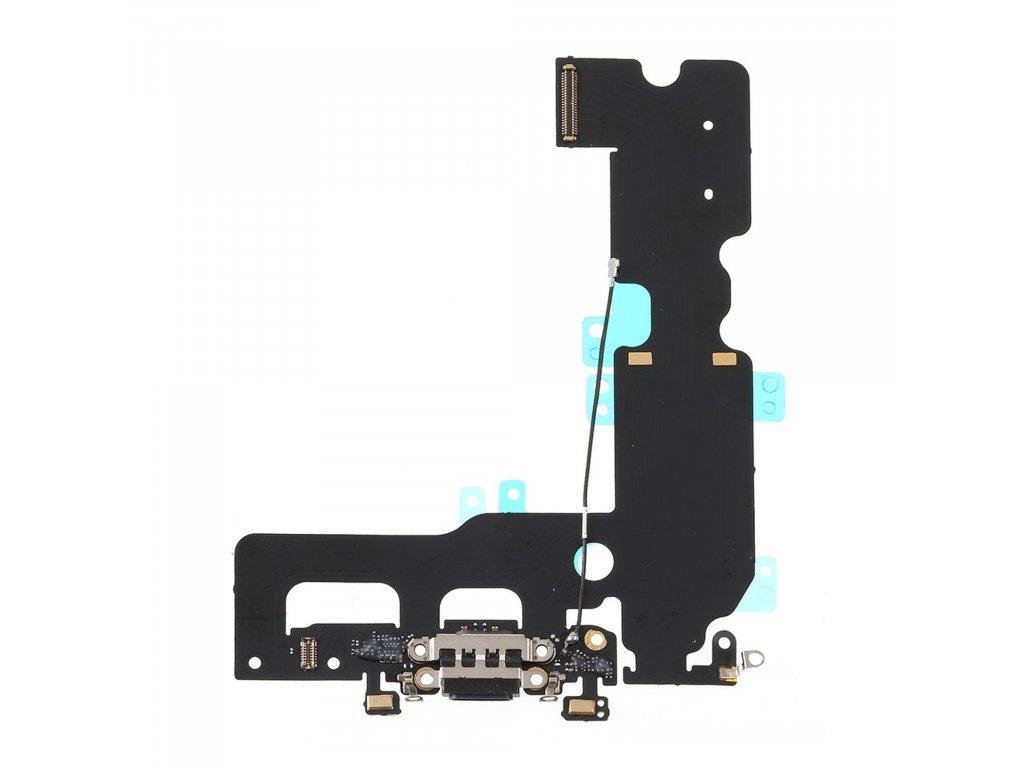 Apple iPhone 7 plus dobíjecí konektor nabíjení dock port černý