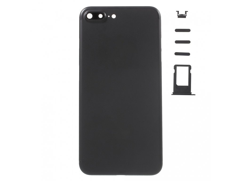 Apple iPhone 7 plus zadní hliníkový kryt baterie matná černá