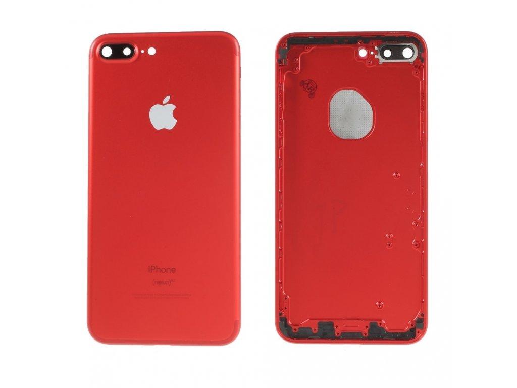 Apple iPhone 7 plus zadní hliníkový kryt baterie záda red product červená