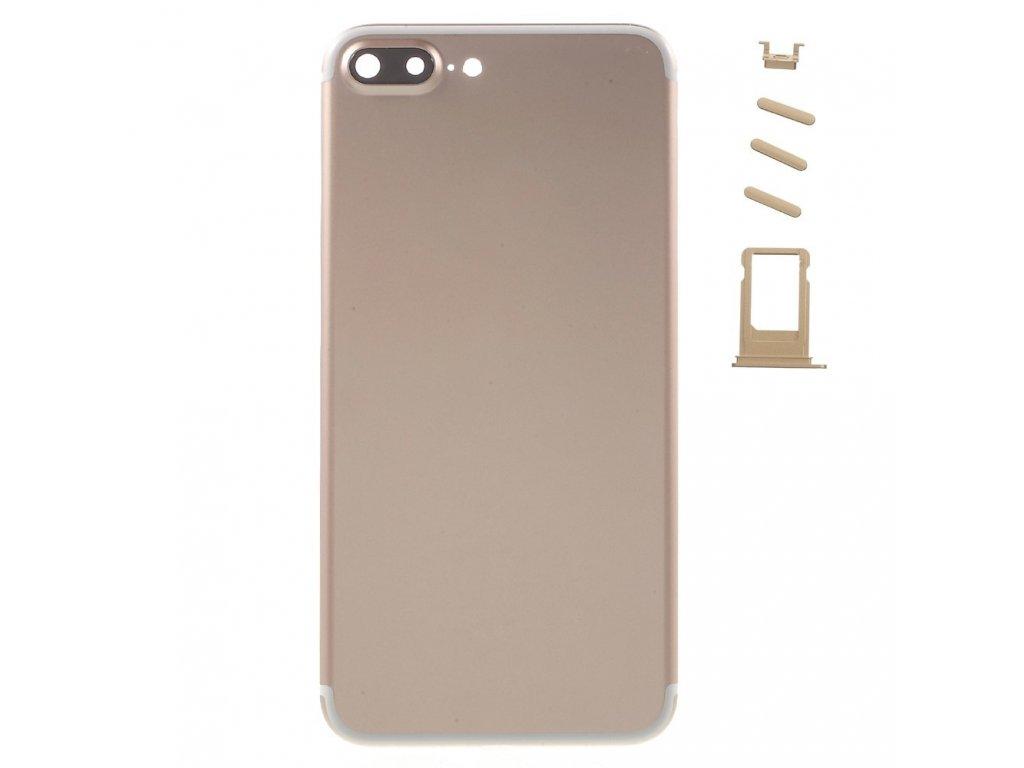 Apple iPhone 7 plus zadní hliníkový kryt baterie zlatá champagne