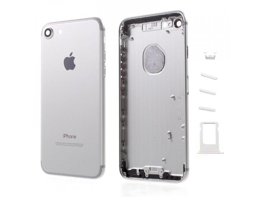 Apple iPhone 7 zadní kryt baterie stříbrný silver