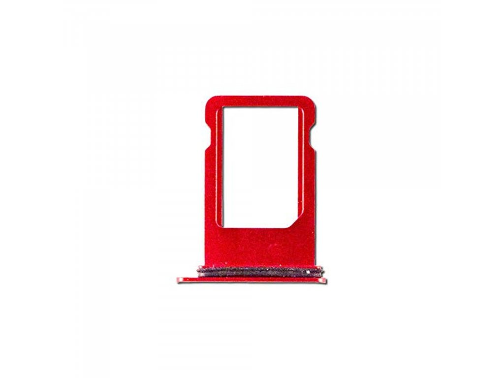 Apple iPhone 8 červený šuplík na SIM kartu Product RED