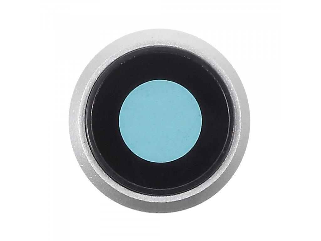 Apple iPhone 8 krytka sklíčko fotoaparátu stříbrná