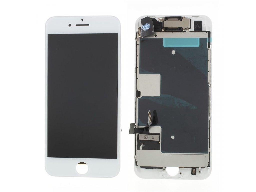 Apple iPhone 8 LCD displej dotykové sklo bílé komplet osazený včetně přední kamery