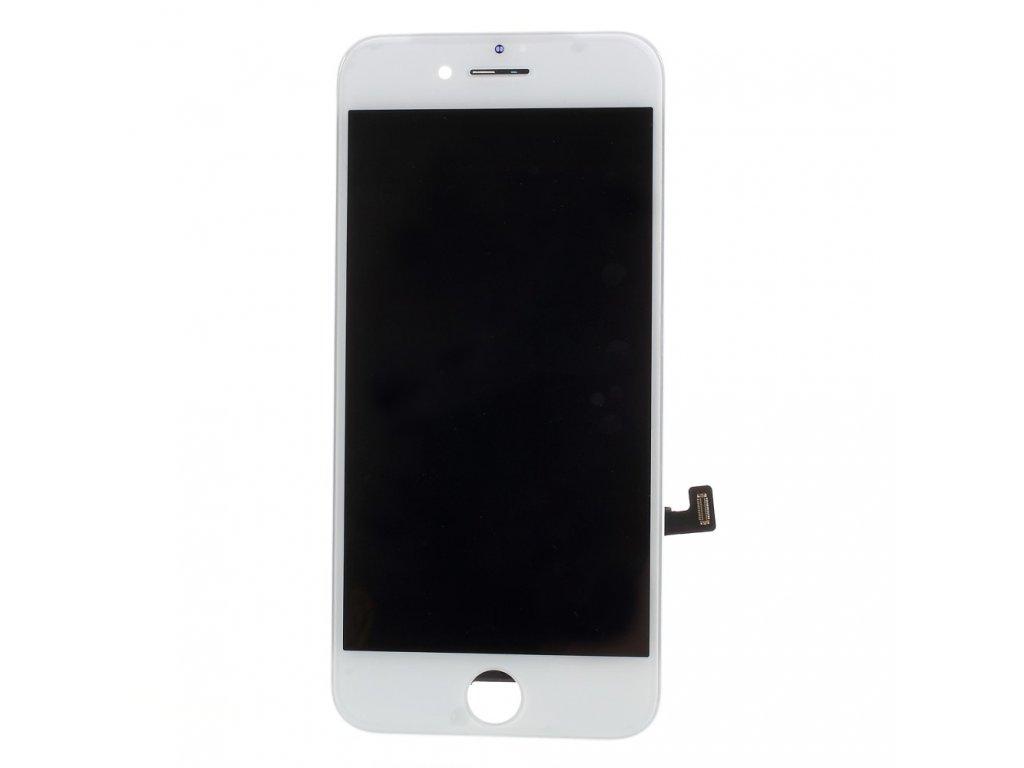 Apple iPhone 8 LCD displej dotykové sklo přední panel bílá jasnější podsvit