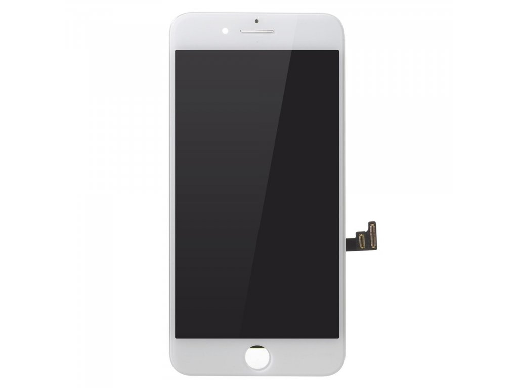 Apple iPhone 8 Plus LCD komplet displej dotykové sklo bílé (originální)