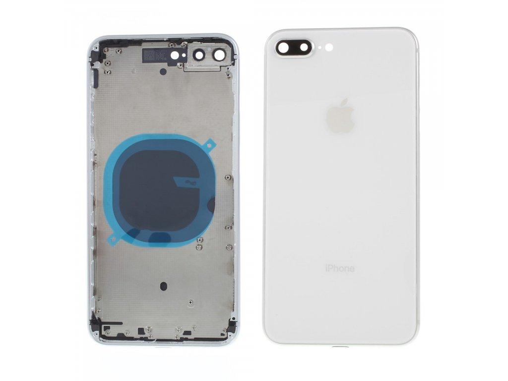 Apple iPhone 8 Plus zadní kryt baterie včetně středového rámečku telefonu stříbrný silver