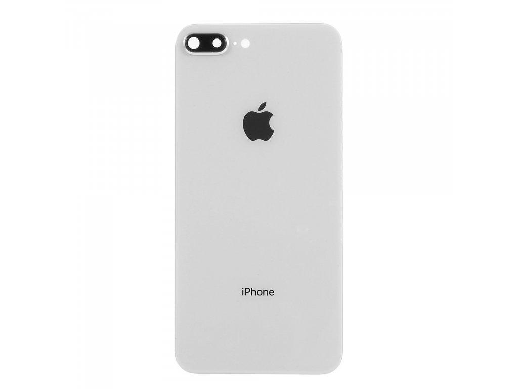 Apple iPhone 8 Plus zadní skleněný kryt baterie včetně krytky fotoaparátu bílý