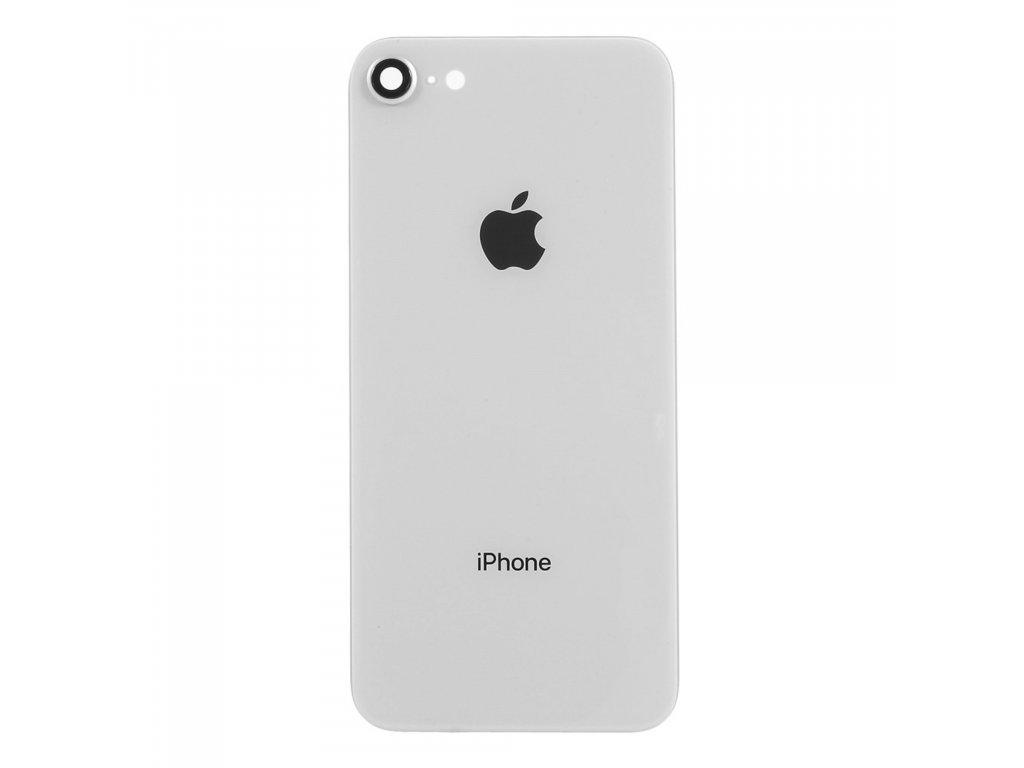 Apple iPhone 8 zadní kryt baterie bílý včetně krytky čočky fotoaparátu