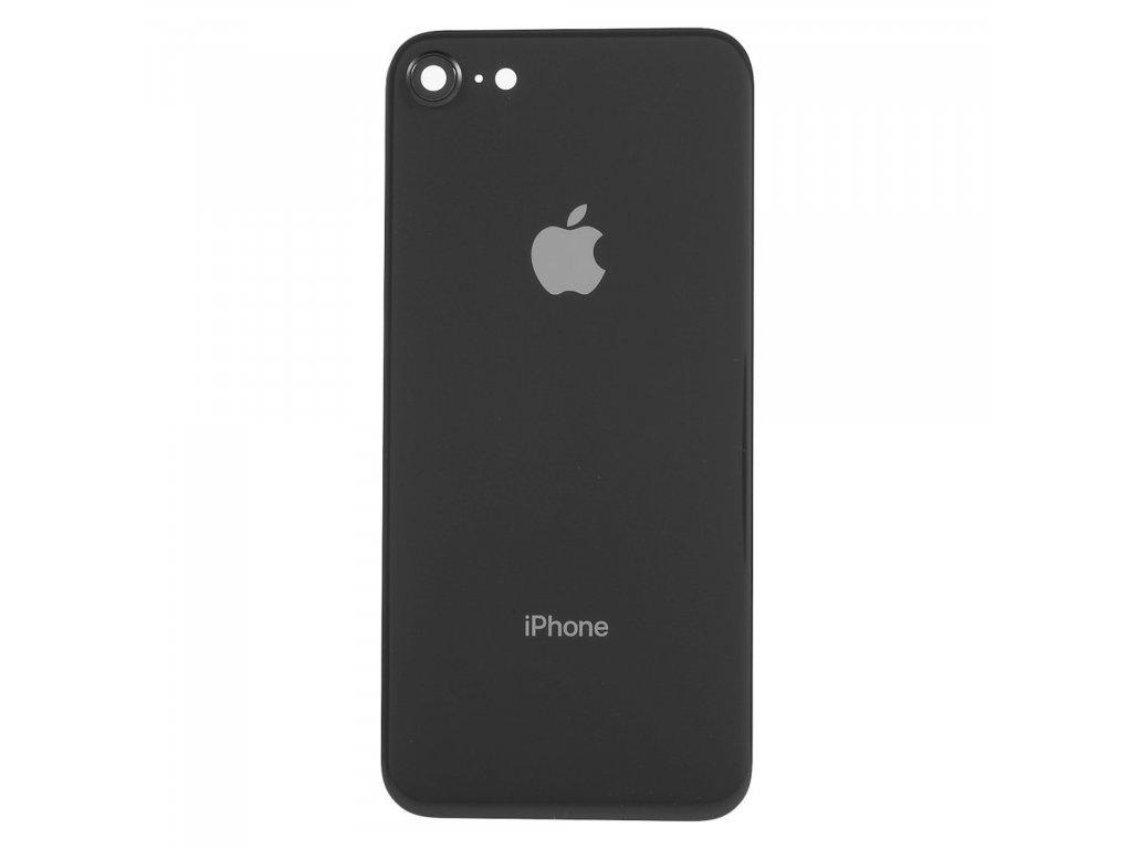 Apple iPhone 8 zadní kryt baterie černý včetně krytky čočky fotoaparátu