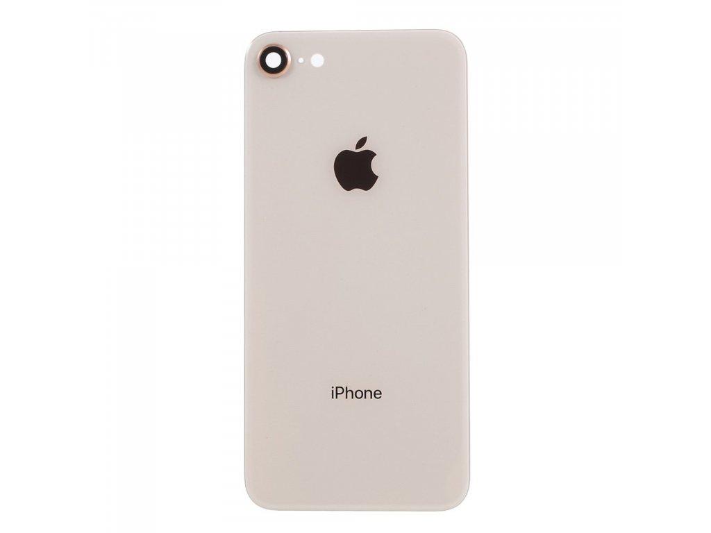Apple iPhone 8 zadní kryt baterie zlatý bush gold včetně krytky čočky fotoaparátu