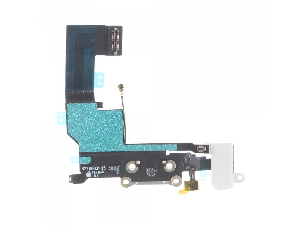 Apple iPhone SE nabíjecí konektor dock spodní napájecí port bílý