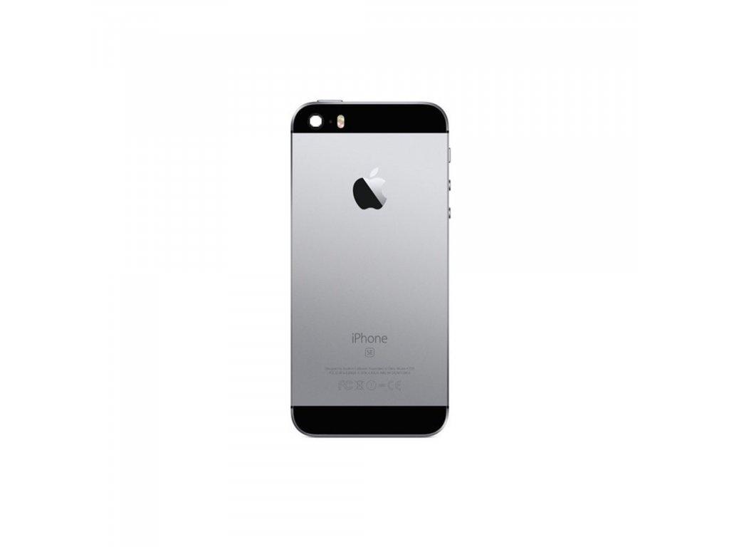 Apple iPhone SE zadní kryt baterie vesmírně šedý space grey