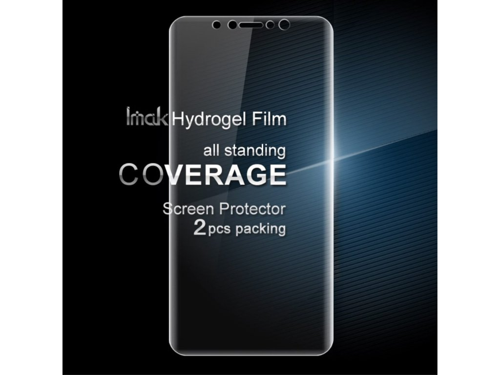 Apple iPhone X / XS Ochranná transparentní Hydrogel folie na displej sada 2ks