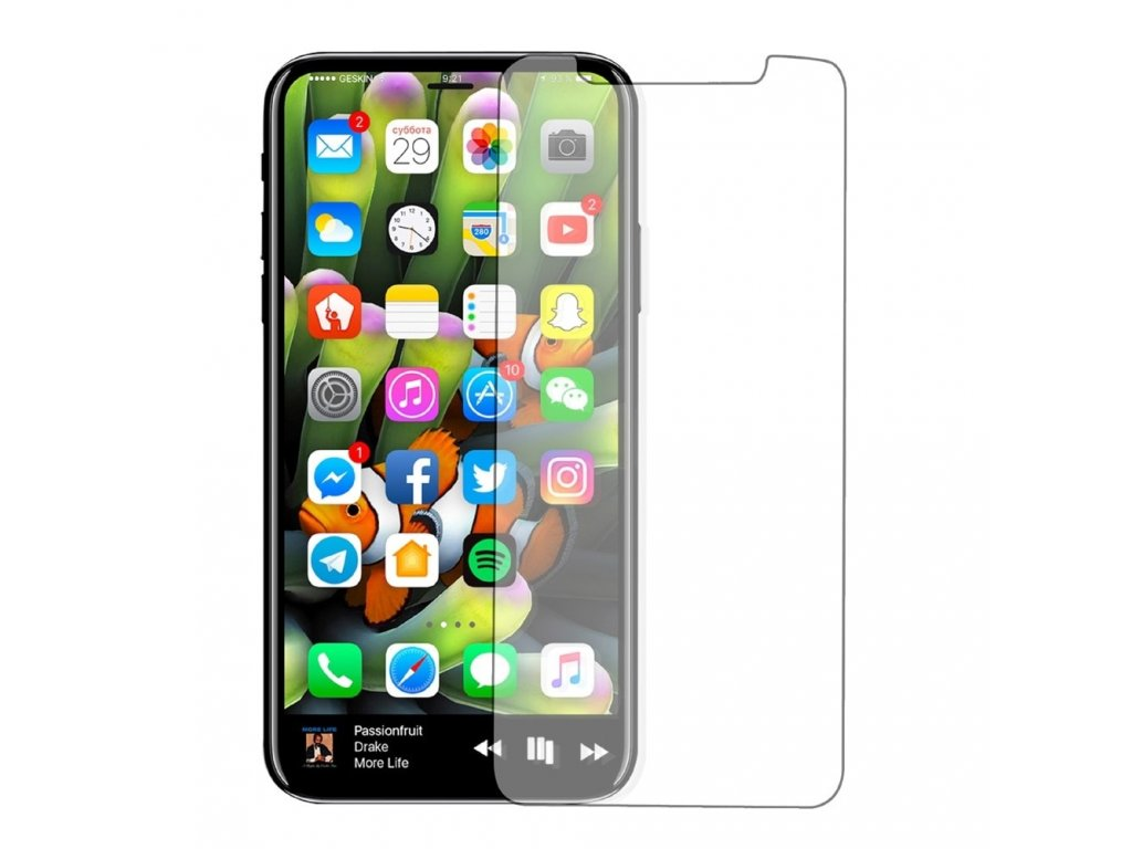 Apple iPhone X / Xs Ochranné tvrzené sklo 2,5D