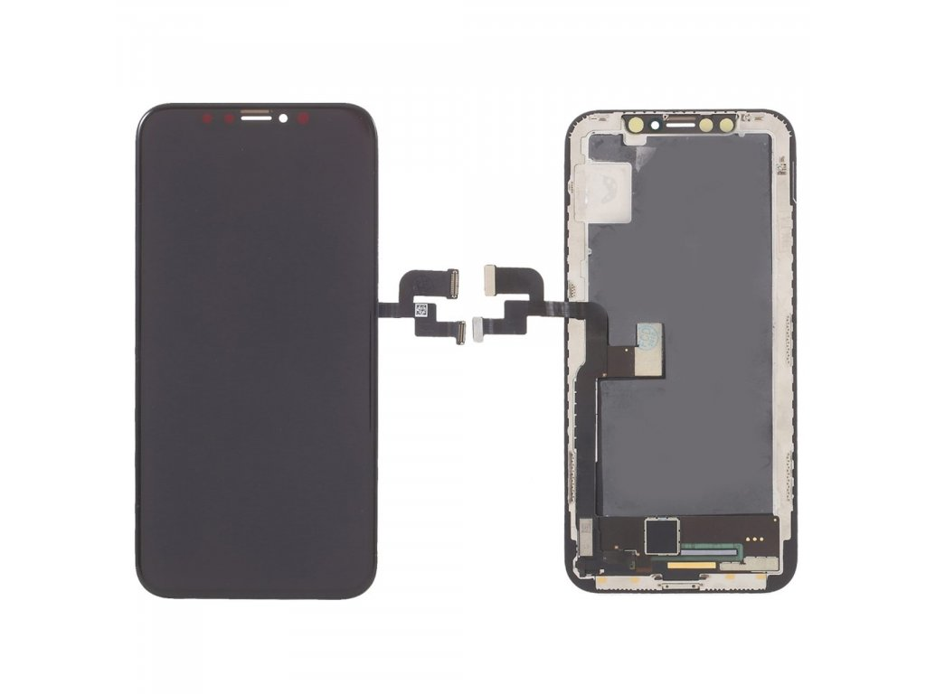 Apple iPhone X LCD originál OLED displej dotykové sklo komplet přední panel