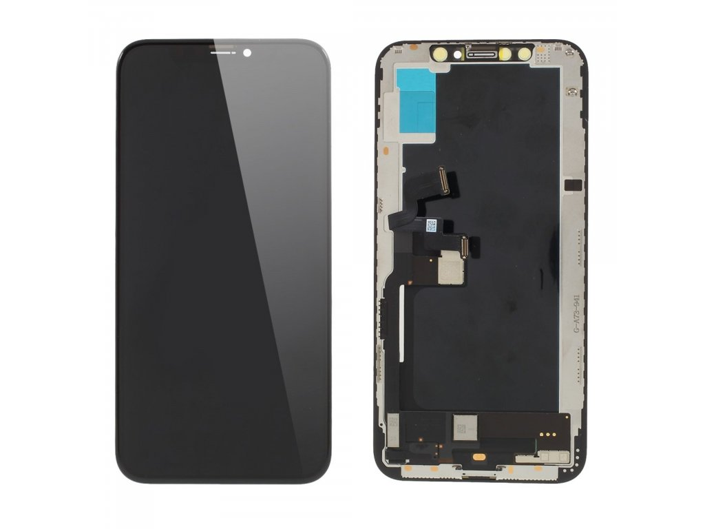 Apple iPhone XS LCD originál OLED displej dotykové sklo komplet přední panel
